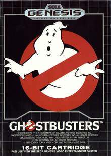 Box art for the game Ghostbusters