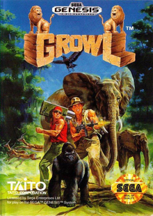 Box art for the game Growl