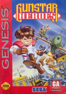 Box art for the game Gunstar Heroes