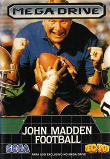 Box art for the game John Madden Football