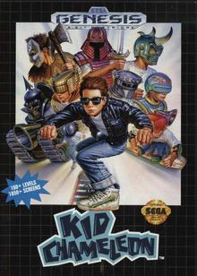 Box art for the game Kid Chameleon