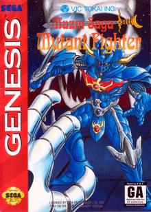 Box art for the game Mazin Saga: Mutant Fighter