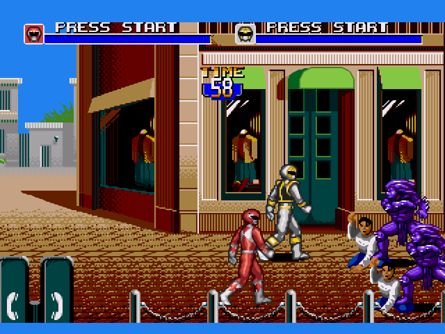[Análise Retro Game] - Mighty Morphin Power Rangers O Filme - Mega Drive/SNES/Game Gear Medium_2_screenshot