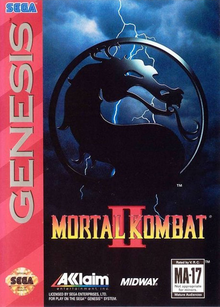 Box art for the game Mortal Kombat II