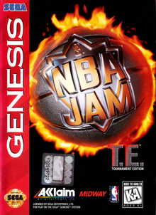 Box art for the game NBA Jam: Tournament Edition