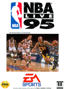 Box art for the game NBA Live '95