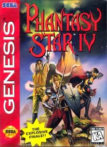 Box art for the game Phantasy Star IV