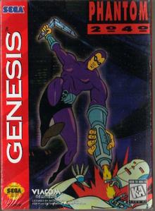 Box art for the game Phantom 2040