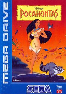 Capa do jogo Pocahontas
