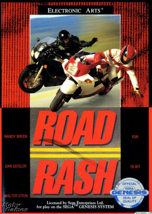 Box art for the game Road Rash