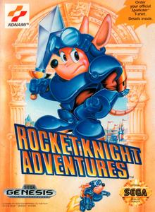 Capa do jogo Rocket Knight Adventures