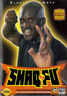 Box art for the game Shaq Fu