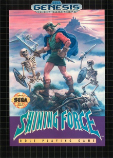 Box art for the game Shining Force