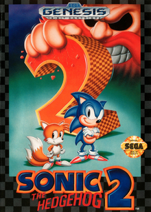 Capa do jogo Sonic the Hedgehog 2