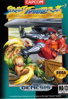 Box art for the game Street Fighter II: Special Champion Edition
