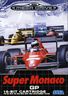 Box art for the game Super Monaco GP