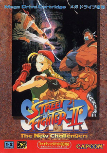 Box art for the game Super Street Fighter II: The New Challengers
