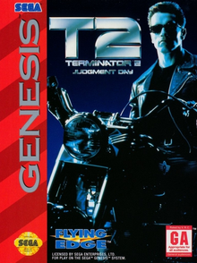Box art for the game Terminator 2: Judgment Day