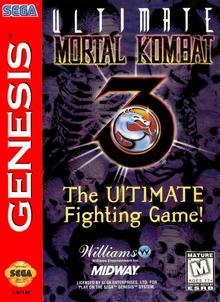 Box art for the game Ultimate Mortal Kombat 3