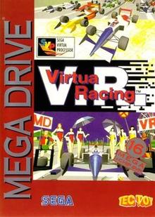 Box art for the game Virtua Racing