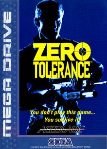 Box art for the game Zero Tolerance
