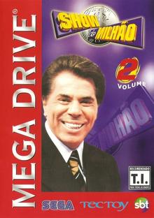 Box art for the game Show do Milhão Vol.2