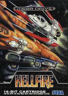 Box art for the game Hellfire