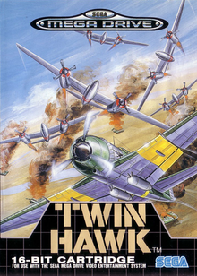 Box art for the game Twin Hawk
