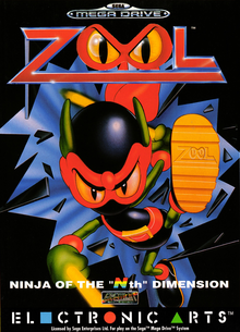 Box art for the game Zool: Ninja of the 'Nth' Dimension