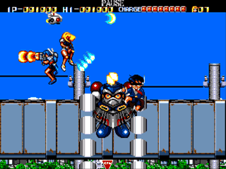 [Análise Retro Game] - Battle Mania Daiginjou Trouble Shooter Vintage - Mega Drive Medium_2_screenshot