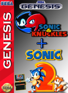 Box art for the game Knuckles in the Sonic the Hedgehog 2