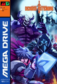 Box art for the game Demons of Asteborg
