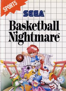 Box art for the game Basketball Nightmare