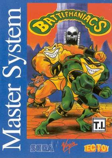 Box art for the game Battlemaniacs