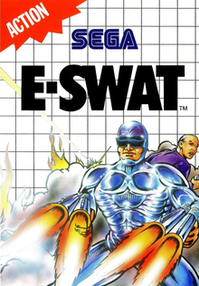 Box art for the game E-SWAT