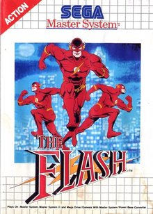 Box art for the game The Flash (1993)