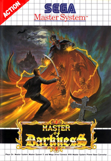 Box art for the game Master of Darkness
