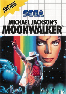 Box art for the game Michael Jackson's Moonwalker