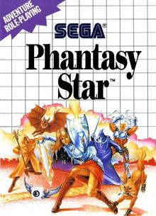 Box art for the game Phantasy Star