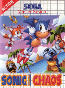 Box art for the game Sonic Chaos