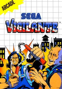 Box art for the game Vigilante