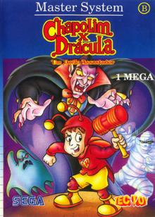 Box art for the game Chapolim X Dracula: Um Duelo Assustador