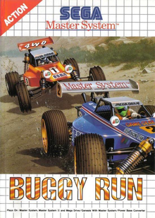 Box art for the game Buggy Run