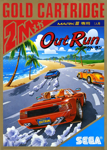 Box art for the game OutRun
