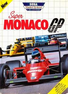 Capa do jogo Super Monaco GP
