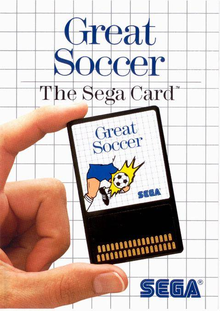 Capa do jogo Great Soccer (Japan and Europe)