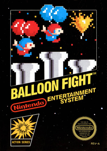 Box art for the game Balloon Fight