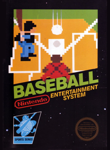 Box art for the game Baseball