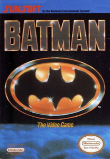 Box art for the game Batman: The Video Game