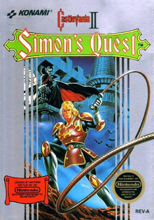 Box art for the game Castlevania II: Simon's Quest